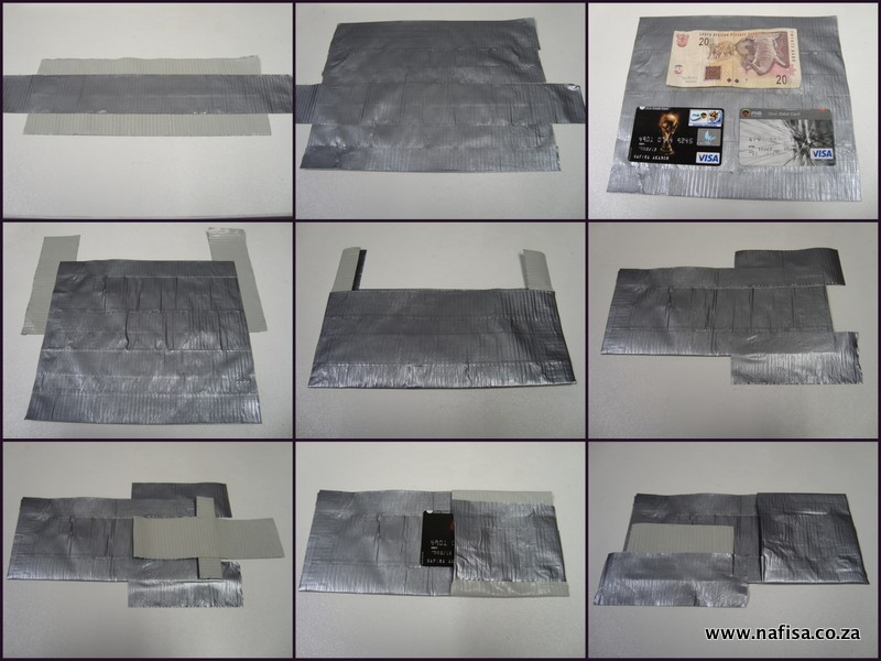 image regarding Duct Tape Wallet Instructions Printable known as Duct Tape Wallet Guidelines Printable