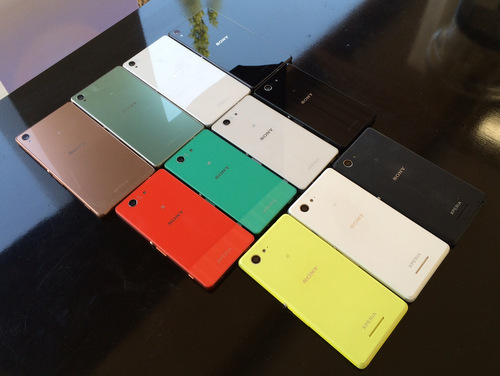 Xperia-range-colours