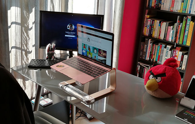 Griffin Elevator Laptop Stand + WIN