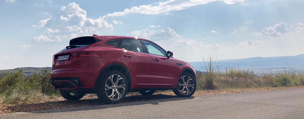 Launch Drive: Jaguar E-Pace