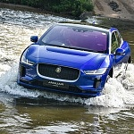 I took Jaguar's R1.7-million I-Pace electric car for a swim