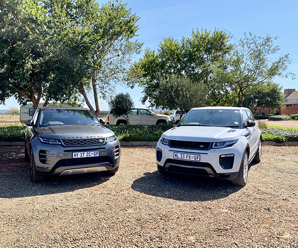 Evoque old vs. new