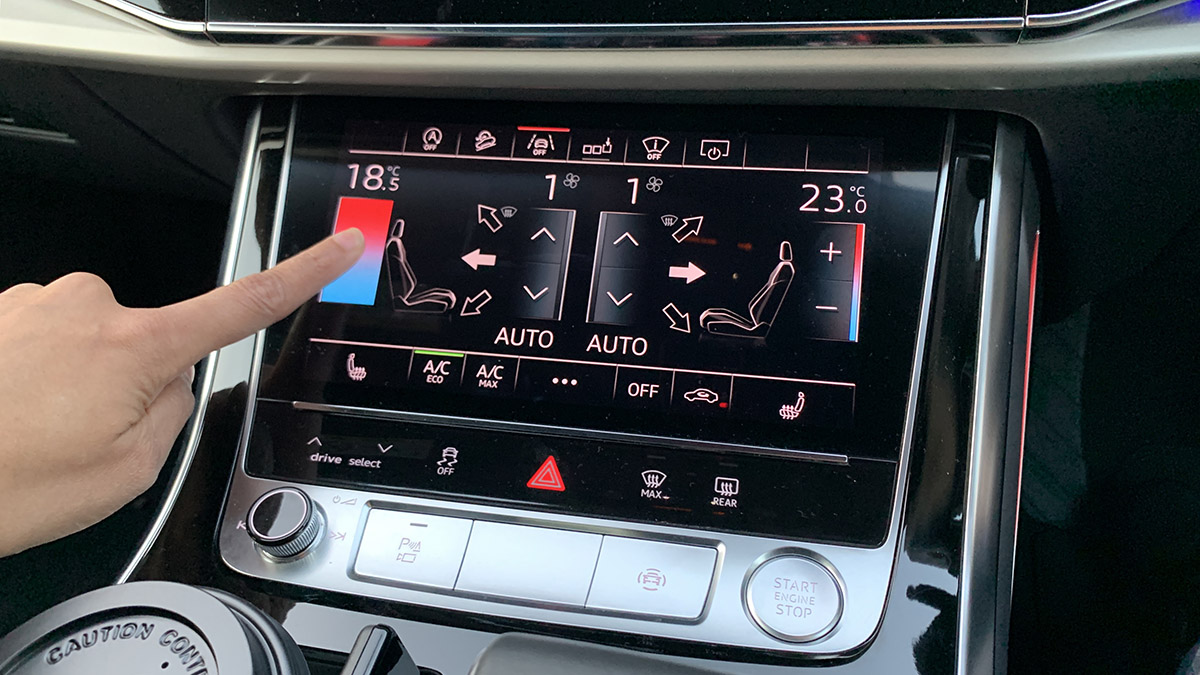 Q8 touch panel
